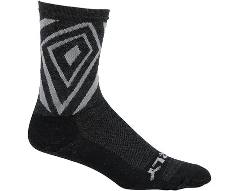 "Surly Vortechia 5"" Sock: Black/Gray XL"
