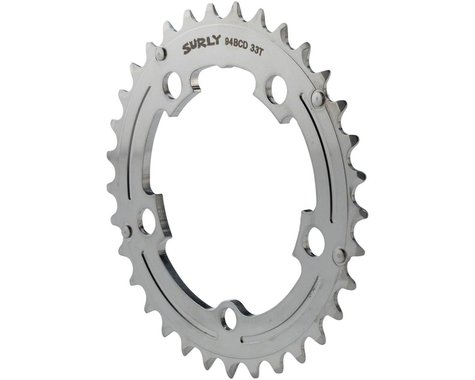 Surly Updated OD Crank Chainring (Silver) (94mm BCD) (33T)