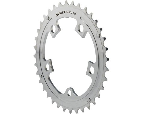 Surly Updated OD Crank Chainring (Silver) (94mm BCD)