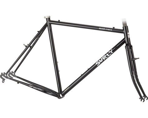 Surly Cross Check Frameset (Gloss Black) (54cm)