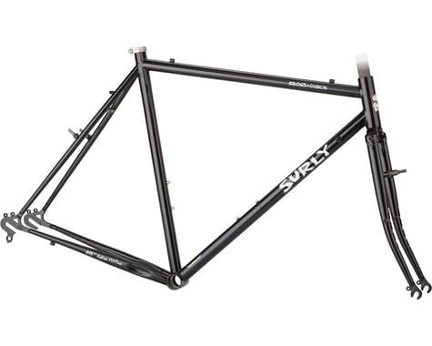 Surly Cross Check Frameset (Gloss Black) (58cm)