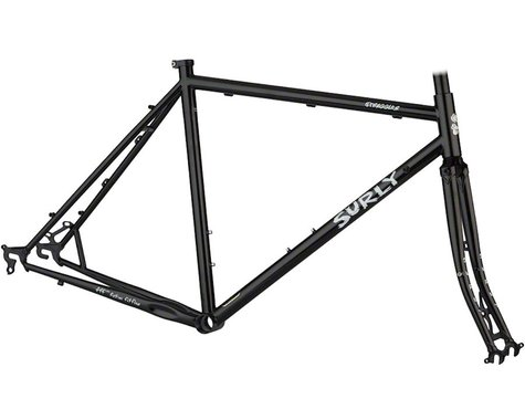 Surly Straggler 650b Frameset (Gloss Black) (58cm)