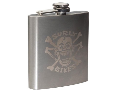 Surly Hip Flask 6oz Stainless