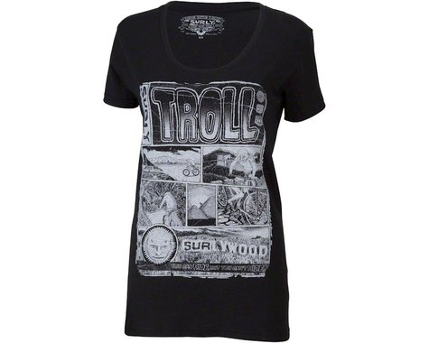 Surly Troll Women's T-Shirt (Black)