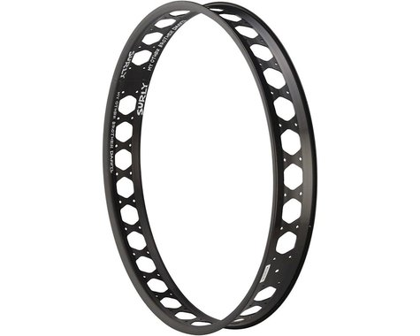 """Surly My Other Brother Darryl Rim - 26"""", Disc, Black, 32H, Clincher, Dual"""
