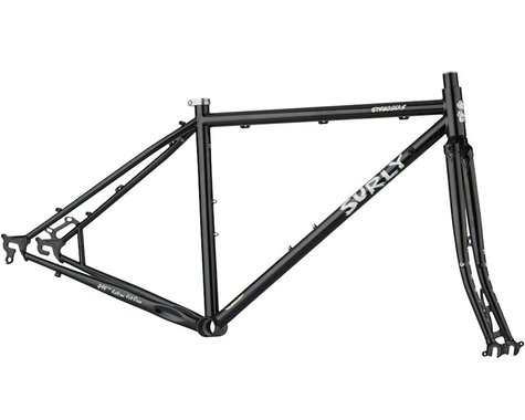 Surly Straggler 700c Frameset (Gloss Black) (62cm)
