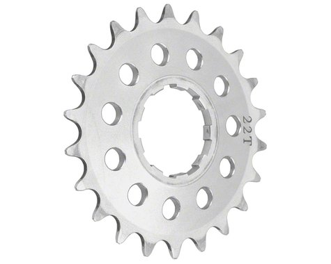 "Surly 3/32"" Single Speed Cassette Cog (Silver) (Splined) (22T)"