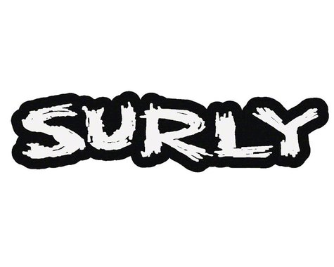 "Surly Logo Sticker 6.4"" x 1.75"""