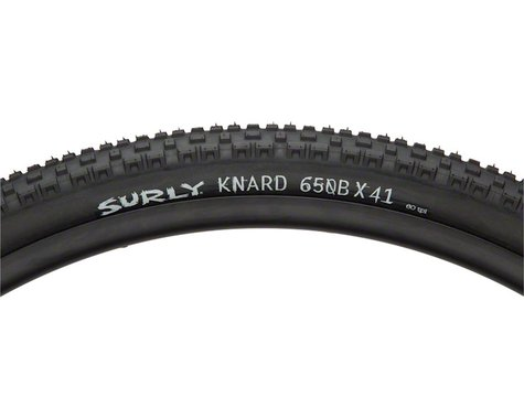 Surly Knard Tire - 650b x 41, Clincher, Folding, Black, 60tpi