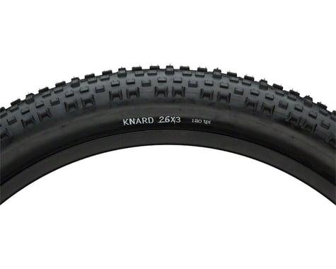 Surly Knard Tire - 26 x 3, Clincher, Folding, Black, 120tpi