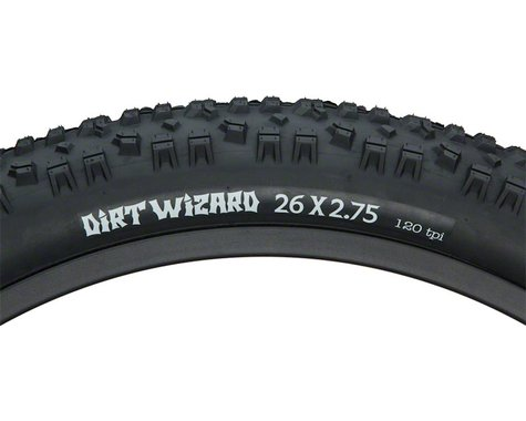 Surly Dirt Wizard Tire - 26 x 2.75, Clincher, Folding, Black, 120tpi