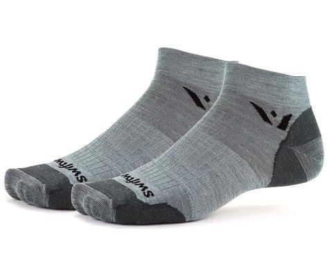Swiftwick Pursuit One Ultralight Socks (Heather Grey) (S)