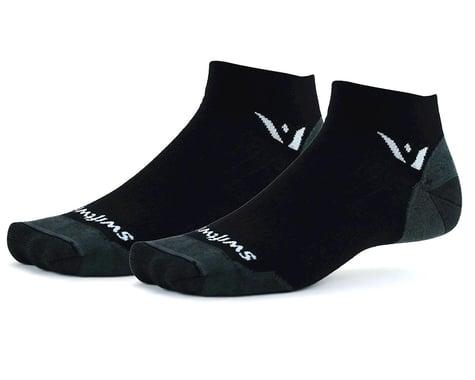 Swiftwick Pursuit One Ultralight Socks (Black) (XL)