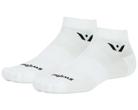 Swiftwick Aspire One Socks (White) (S)