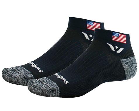 Swiftwick Vision One Tribute Socks (USA Flag) (XL)
