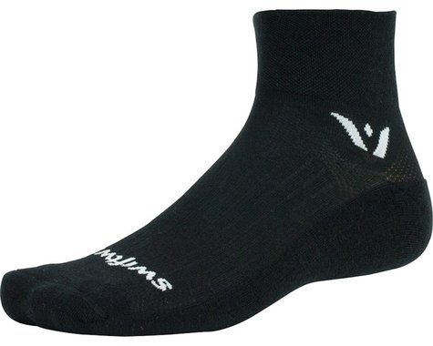 Swiftwick Pursuit Two Sock (Black)