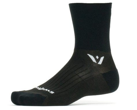 Swiftwick Performance Four Socks (Black) (S)