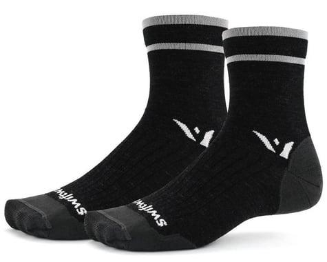 Swiftwick Pursuit Four Ultralight Socks (Coal Grey) (S)