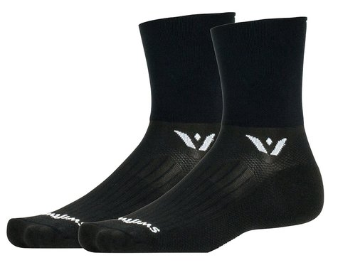 Swiftwick Aspire Four Socks (Black) (S)