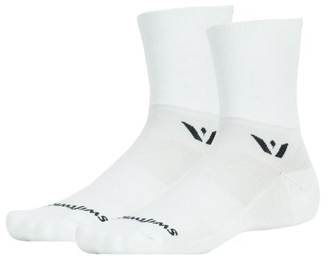 Swiftwick Aspire Four Sock (White) (XL)