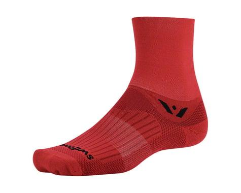 Swiftwick Aspire Four Sock (Red) (L)