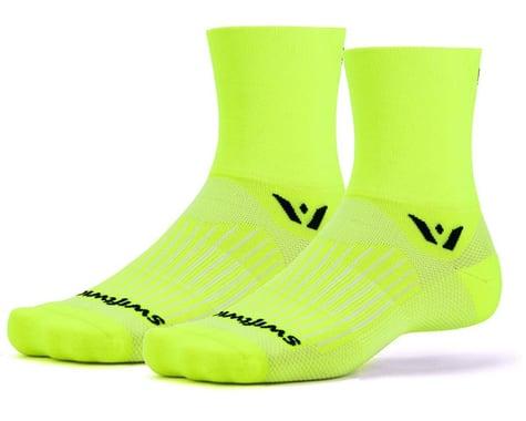 Swiftwick Aspire Four Sock (Hi-Vis Yellow) (S)