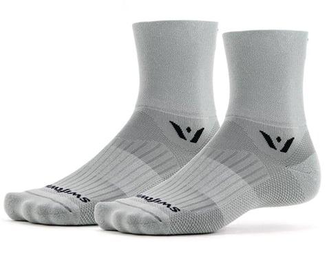 Swiftwick Aspire Four Socks (Pewter) (S)