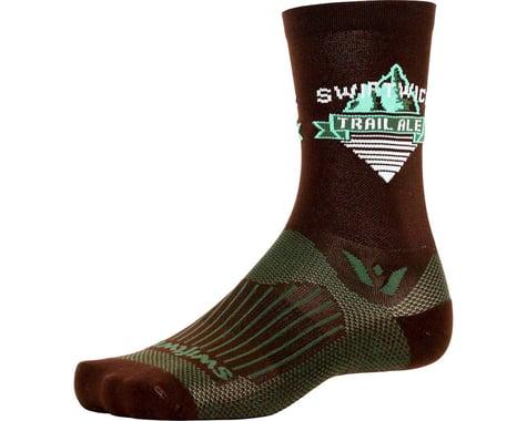 Swiftwick Vision Five Beer Series Sock (Trail Ale/Brown)