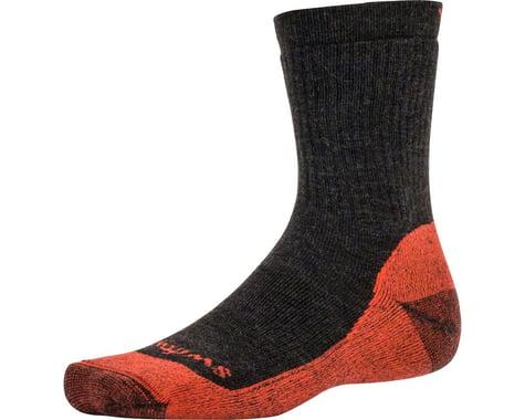 Swiftwick Pursuit Six Medium Cushion Hike Sock (Heather Red)