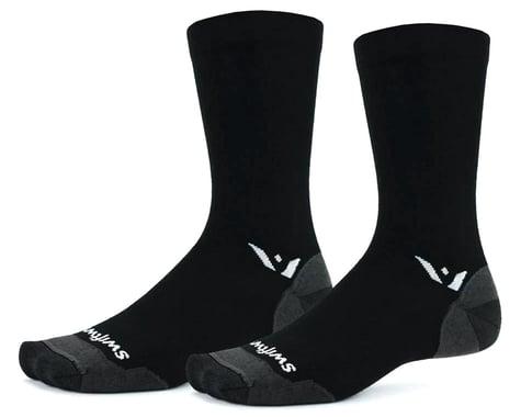 Swiftwick Pursuit Seven Ultralight Socks (Black) (L)