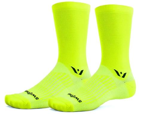 Swiftwick Aspire Seven Sock (Hi-Viz Yellow) (L)