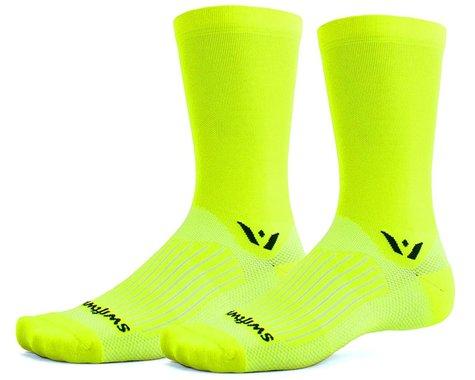 Swiftwick Aspire Seven Sock (Hi-Viz Yellow) (XL)