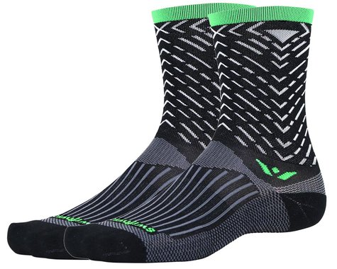 Swiftwick Vision Seven Tread Sock (Black) (XL)