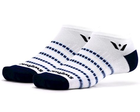 Swiftwick Aspire Zero Socks (White/Navy) (S)