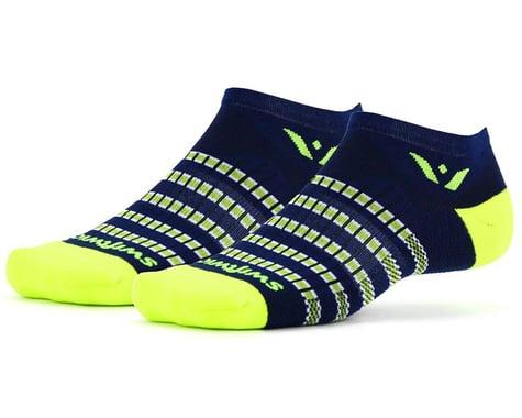 Swiftwick Aspire Zero Socks (Navy/Citron) (S)