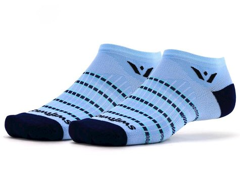 Swiftwick Aspire Zero Socks (Sky Blue/Navy) (S)