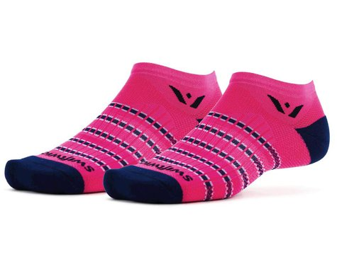 Swiftwick Aspire Zero Socks (Fushia/Navy) (S)