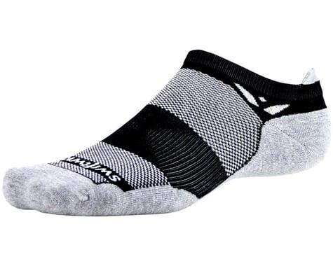 Swiftwick Maxus Zero Tab Socks (Black) (M)