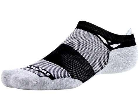 Swiftwick Maxus Zero Tab Socks (Black) (S)