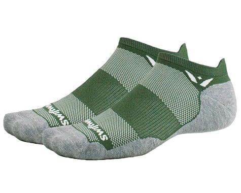 Swiftwick Maxus Zero Tab Socks (Olive) (M)