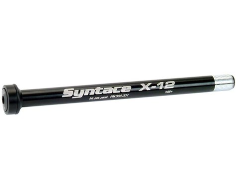 Syntace X-12 Rear Thru Axle (Black) (12 x 142mm) (177mm) (1.0mm)