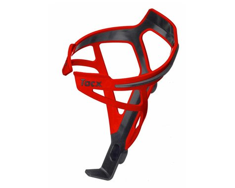 Tacx Deva Bottle-Cage (Black/Red)