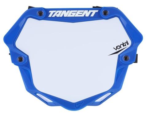Tangent Ventril 3D Pro Number Plate (Blue) (L)