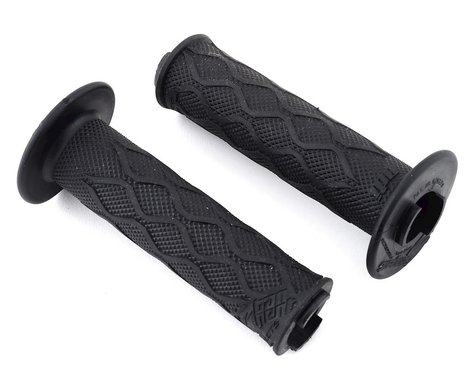 Tangent Pro Lock-On Grips (Black/Gold) (130mm)