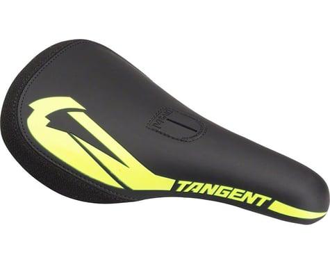 Tangent Carve Pivotal BMX Saddle (Black/Neon Yellow)
