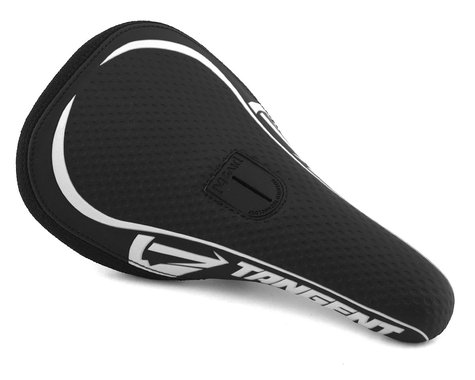 Tangent Remix Pivotal BMX Saddle (Black/White) (Pro)