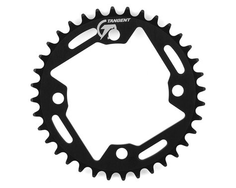 Tangent Halo 4-Bolt Chainring (Black)