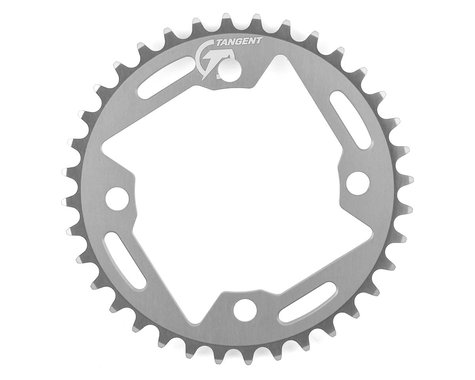 Tangent Halo 4-Bolt Chainring (Gun Metal) (36T)