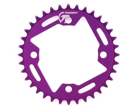 Tangent Halo 4-Bolt Chainring (Purple) (36T)