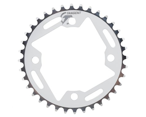 Tangent Halo 4-Bolt Chainring (White) (36T)